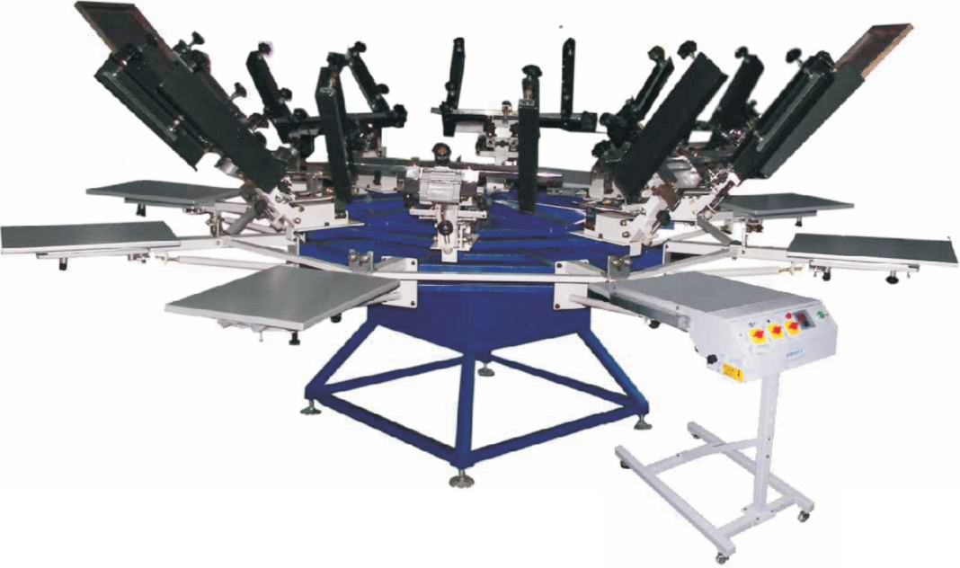 Micro Registration Chest Printing Machine
